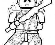 Coloriage Lego Ninjago vecteur