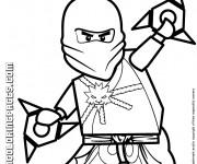 Coloriage et dessins gratuit Lego Ninjago Zane à imprimer