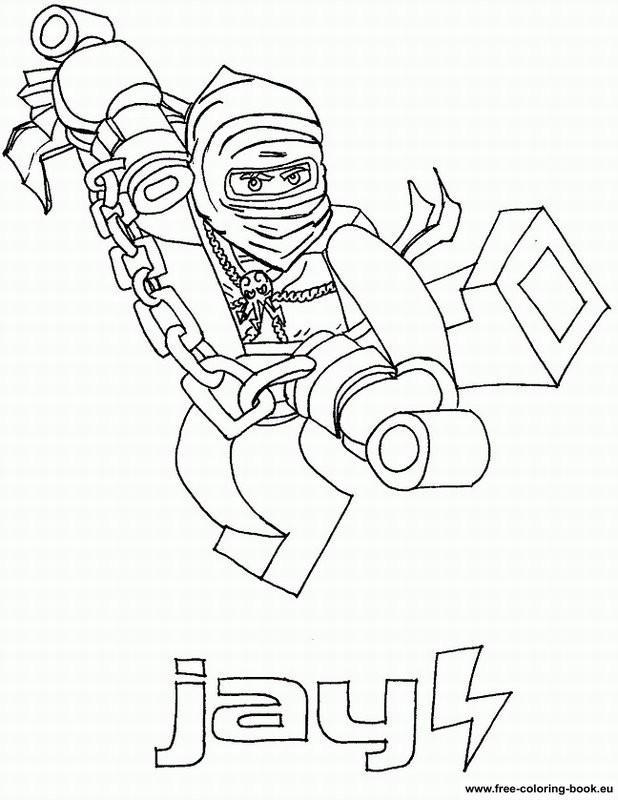 Coloriage et dessins gratuits Lego Ninjago Zane couleur à imprimer
