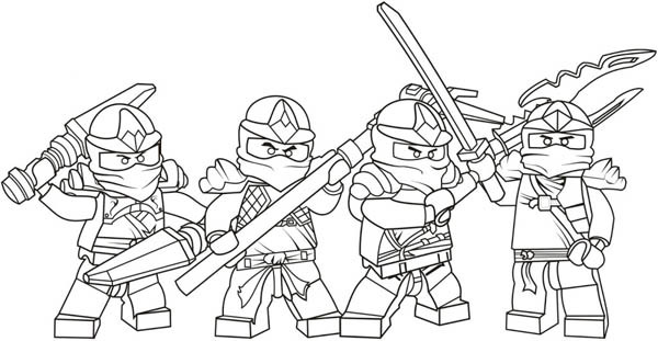 coloriage personnages lego ninjago dessin gratuit imprimer. Black Bedroom Furniture Sets. Home Design Ideas