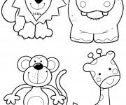 Coloriage et dessins gratuit Les Animaux 11 à imprimer