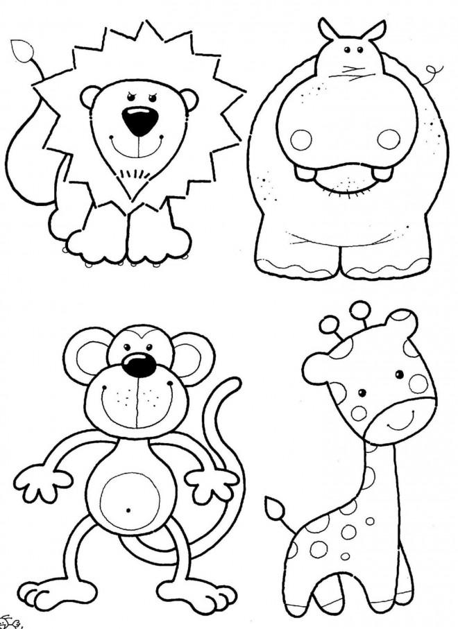 Coloriage et dessins gratuits Les Animaux pour enfant à imprimer