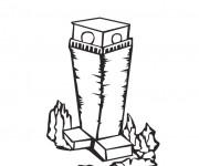 Coloriage et dessins gratuit Les Batiments 11 à imprimer