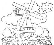 Coloriage dessin  Les Batiments 13