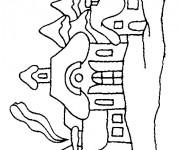Coloriage dessin  Les Batiments 16