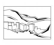 Coloriage dessin  Les Batiments 18