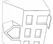 Coloriage dessin  Les Batiments 20