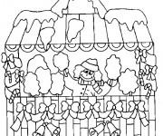 Coloriage dessin  Les Batiments 5