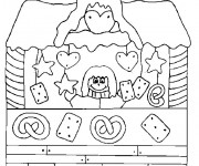 Coloriage dessin  Les Batiments 8