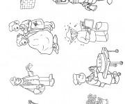 Coloriage et dessins gratuit Les Métiers Professions à imprimer