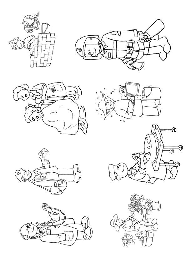 Coloriage et dessins gratuits Les Métiers Professions à imprimer