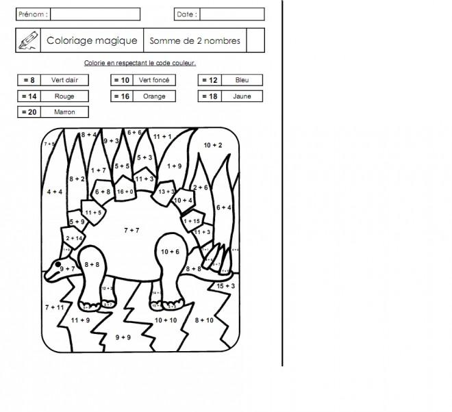 Coloriage et dessins gratuits Addition 11 à imprimer