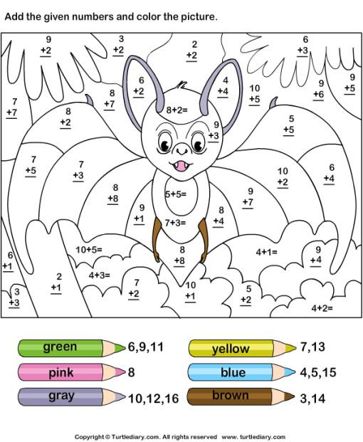 Coloriage et dessins gratuits Addition magique chef souris à imprimer