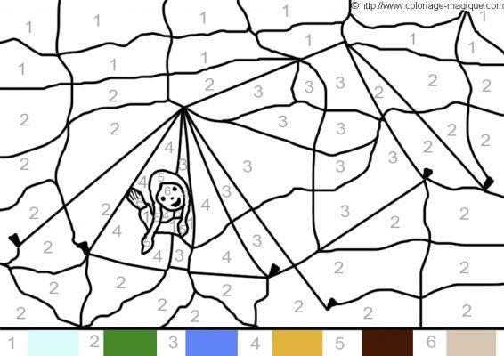 Coloriage et dessins gratuits Magique abstrait pour enfant à imprimer