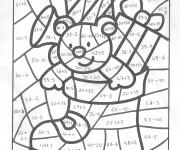 Coloriage et dessins gratuit Magique Addition Noel à imprimer