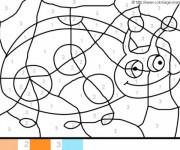 Coloriage et dessins gratuit Magique Coccinelle à imprimer