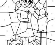 Coloriage et dessins gratuit Magique Facile 11 à imprimer