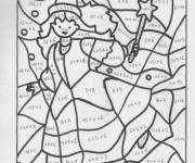 Coloriage dessin  Magique Facile 12