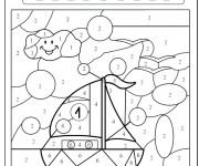 Coloriage et dessins gratuit Magique Facile 15 à imprimer