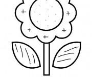Coloriage et dessins gratuit Magique Fleur stylisé à imprimer