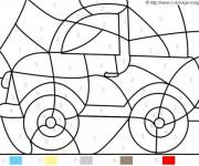 Coloriage et dessins gratuit Magique Maternelle La Voiture à imprimer