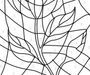 Coloriage et dessins gratuit Magique Rose facile à imprimer