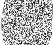 Coloriage dessin  Magique Lettres 10