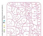 Coloriage dessin  Magique Lettres 13