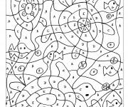 Coloriage dessin  Magique Lettres 15