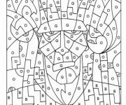 Coloriage dessin  Magique Lettres 2