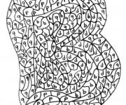 Coloriage dessin  Magique Lettres 4