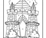 Coloriage dessin  Magique Lettres 6
