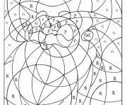 Coloriage dessin  Magique Lettres 9
