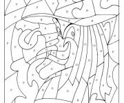 Coloriage Magique Lettres cursive