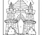 Coloriage Magique Lettres Le Palais