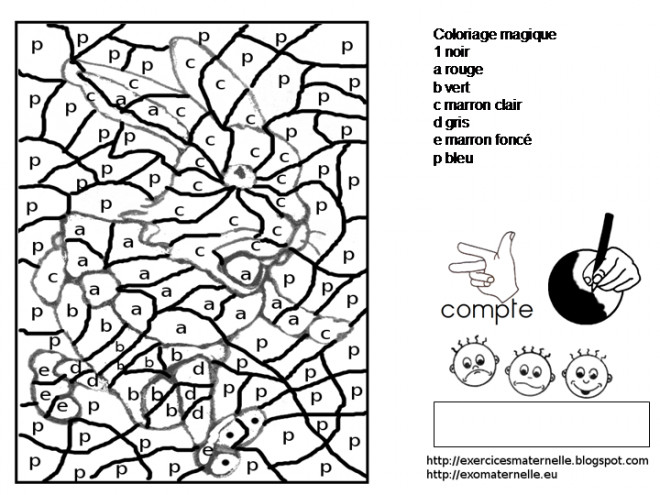 Coloriage Magique Lettres Pour Enfant Dessin Gratuit A Imprimer