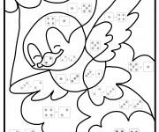 Coloriage dessin  Addition 23