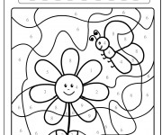 Coloriage dessin  Magique Facile 3