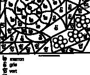 Coloriage dessin  Magique Lettres 38