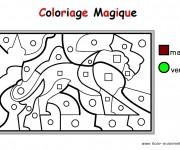 Coloriage dessin  Magique Maternelle 5