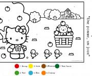 Coloriage et dessins gratuit Magique Maternelle numération à imprimer