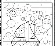 Coloriage et dessins gratuit Magique moyenne section à imprimer