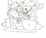 Coloriage Magique Numération La souris