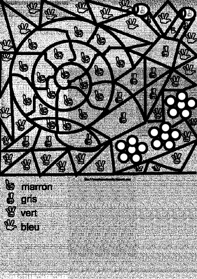 Coloriage et dessins gratuits Magique Symboles à imprimer