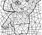 Coloriage dessin  Magique Facile 47