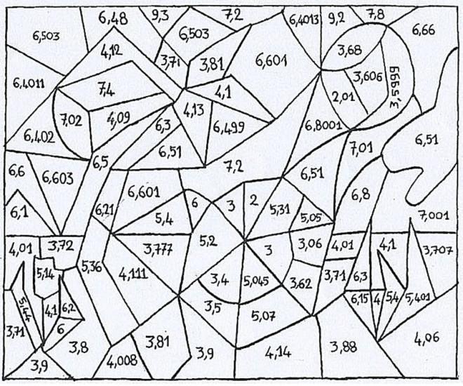 Coloriage Magiques Mathématique dessin gratuit à imprimer