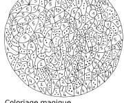Coloriage et dessins gratuit Magiques Numération pour enfant à imprimer