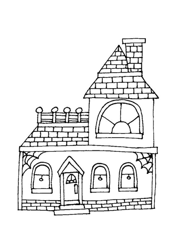 Coloriage et dessins gratuits Maison Simple à télécharger à imprimer