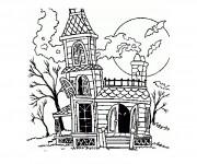 Dessiner en ligne vos coloriages préférés de Maisons