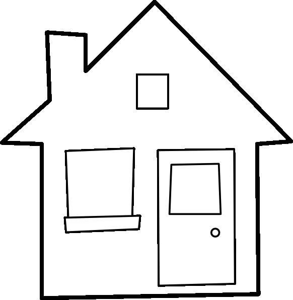 Coloriage et dessins gratuits Maison vecteur à imprimer